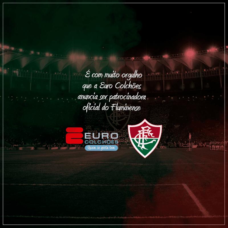 Euro Colchões anuncia parceria com o Fluminense